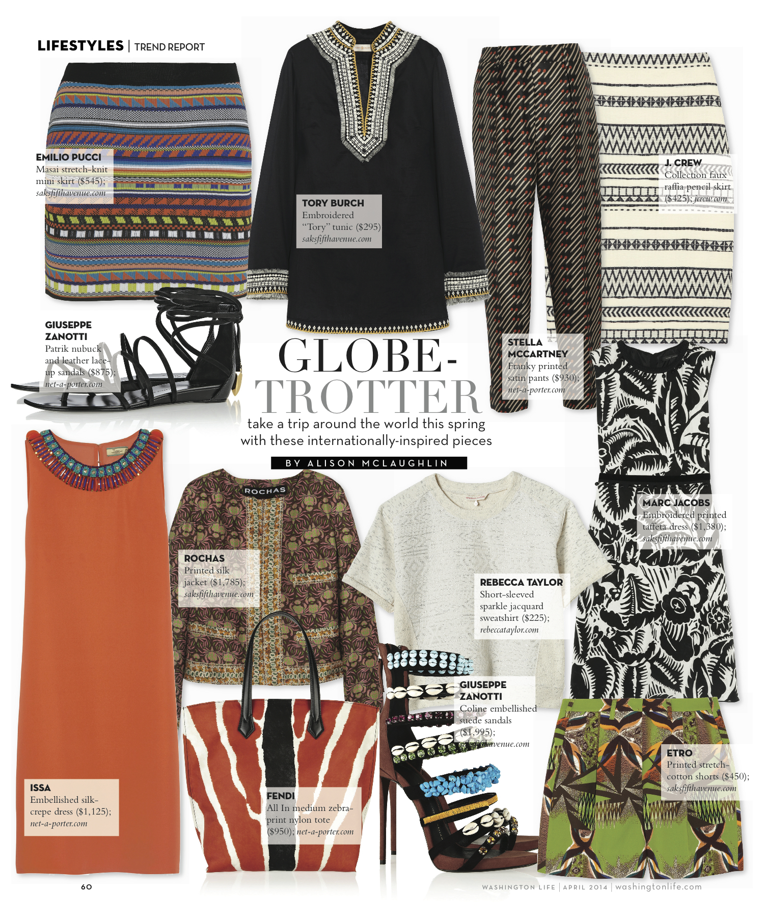 Trend Report: Globe-Trotter