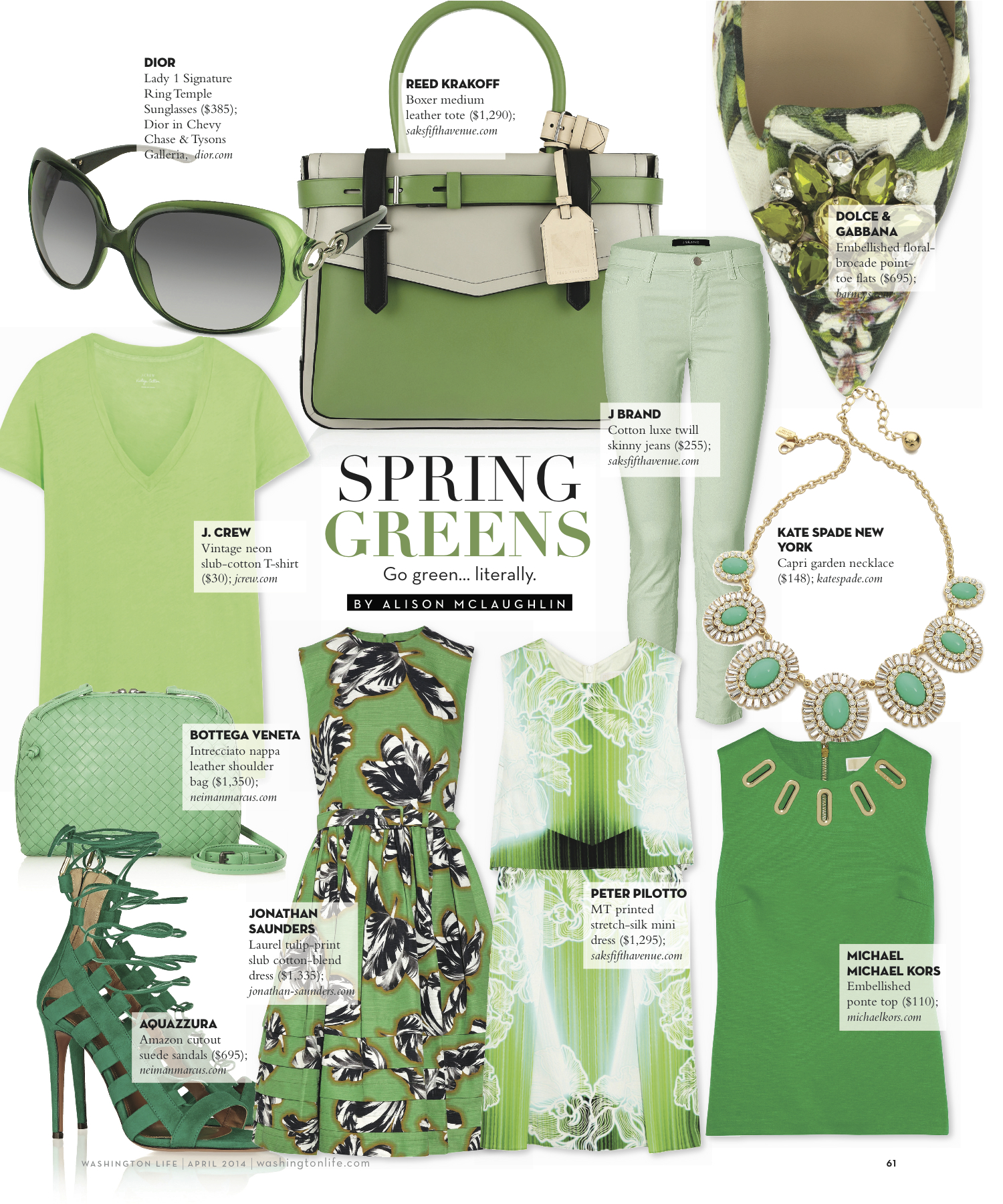 Color Story: Go Green