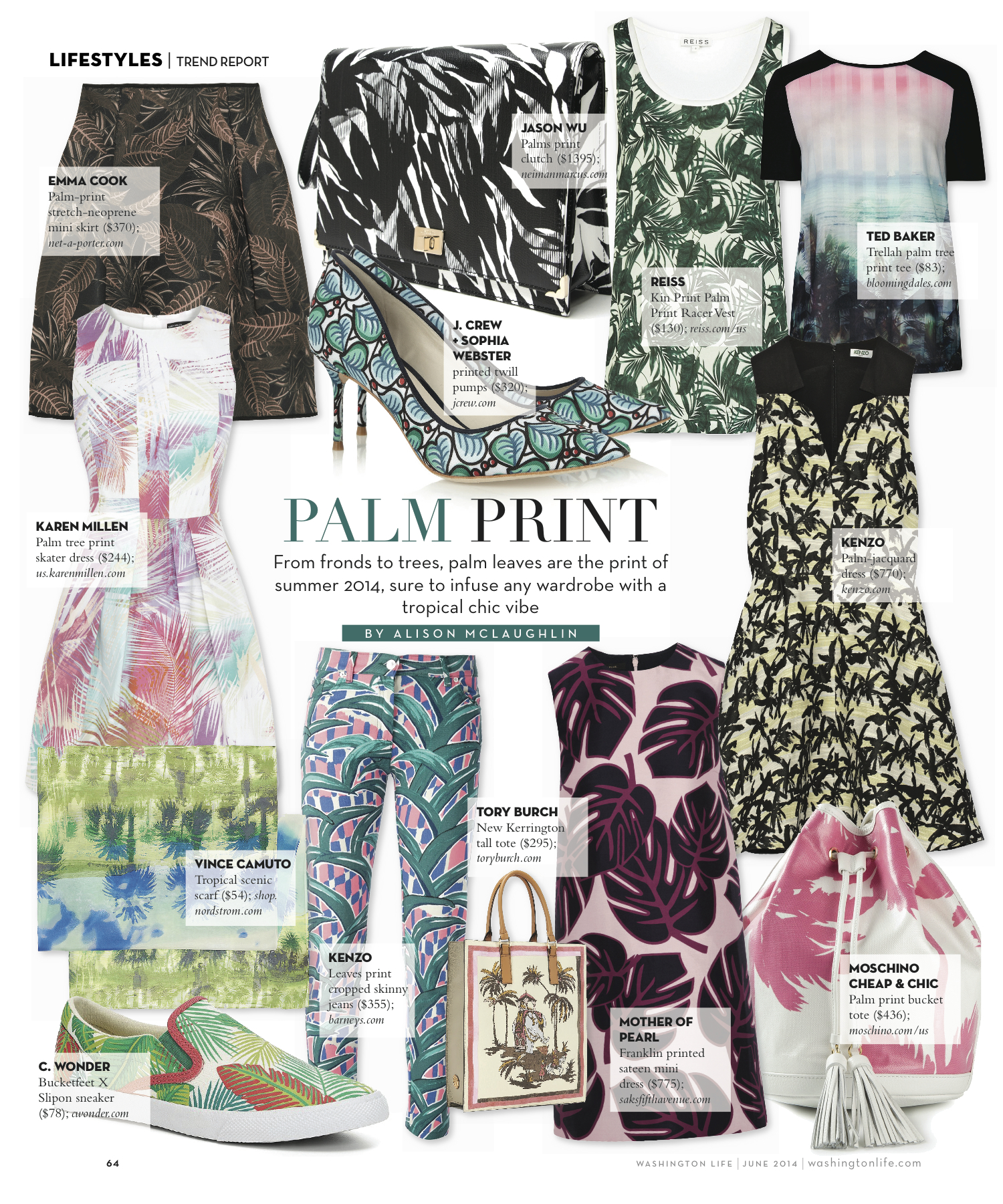 Trend Report: Palm Print