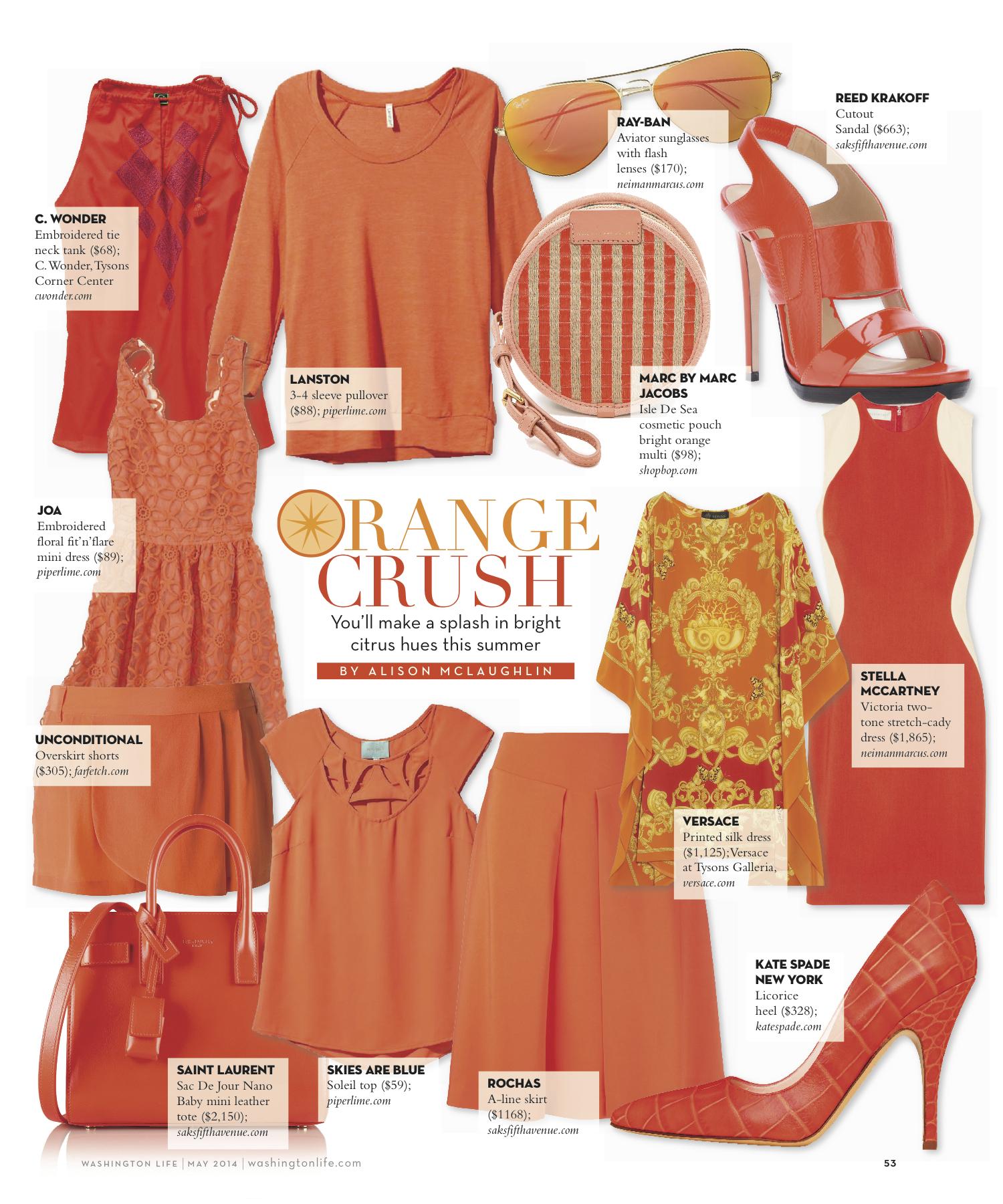 Color Story: OrangeCrush