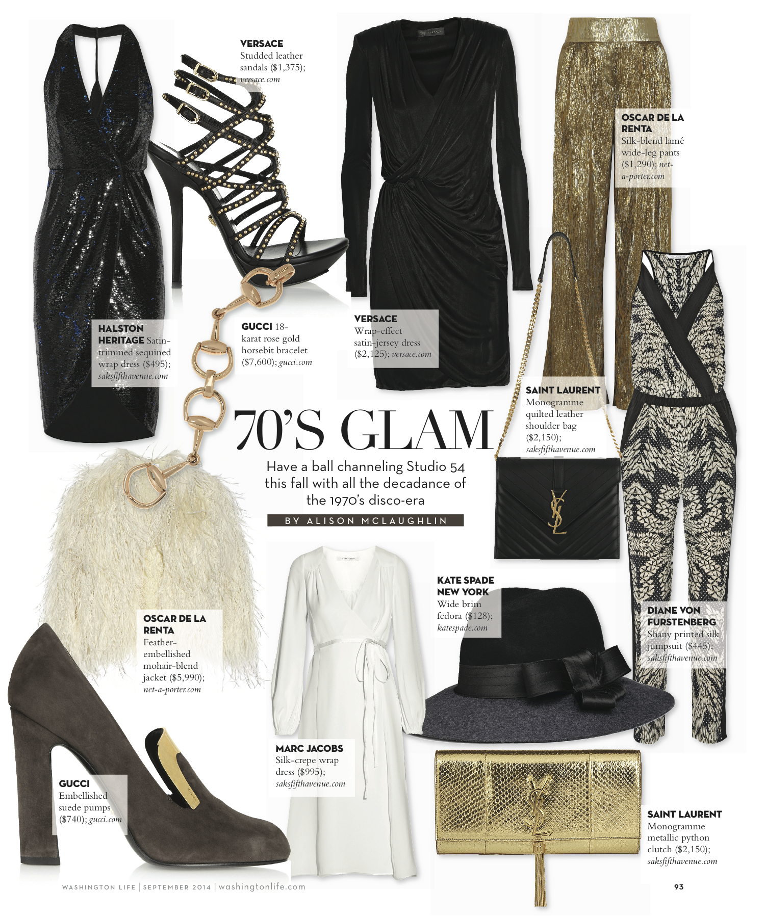 Outfit Inspiration: 1970'sGlam